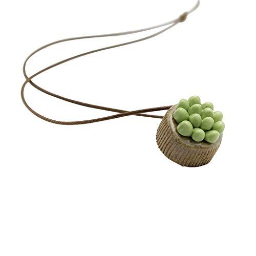 Vi.yo Damen Halskette Handgemachte weiche Lehmfleischhalskette Bekleidungszubehör für Partys, Shopping, Bankette