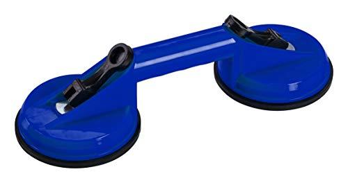CON:P Saugheber - 30 kg Tragkraft - Mit zwei Saugnäpfen - Feststellhebel & Schnelllösefunktion - Zum Transport unhandlicher & schwerer Gegenstände/Vakuumheber/Glasheber/Gummisauger / CP885552