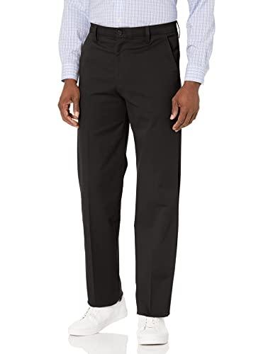 """Dockers Smart 360 Flex - Pantalones de trabajo para hombre, ajuste clásico, color caqui, Classic Fit Workday Khaki Smart 360 Flex Pantalones, 36"""" cintura x 32"""" largo, Caqui (New British Khaki)"""
