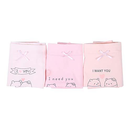 Biitfuu 3 stuks baby meisjes ondergoed kinderen mooie katoenen lettersets kleine meisjes boyshort broekje