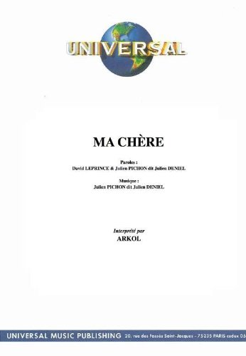 MA CHERE