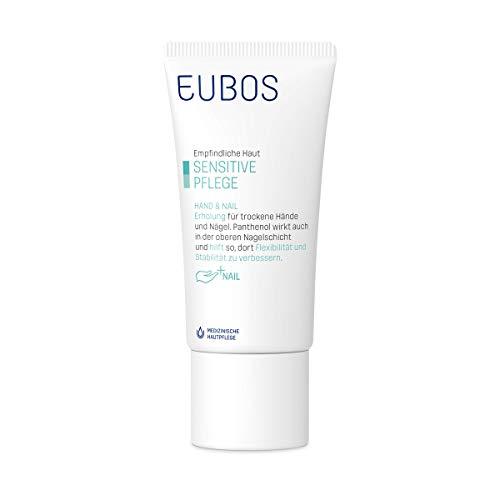 Eubos | Hand & Nail | Handcreme bei spröden, rissigen Nägeln und beanspruchten Händen | 50ml | Hergestellt in Deutschland