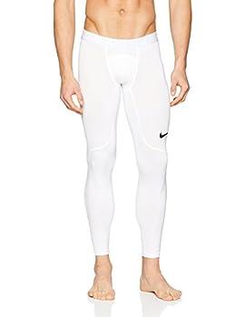 Nike Men s Pro Tight  White/Pure Platinum/Black XX-Large