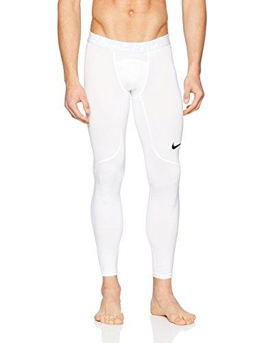Nike Men's Pro Tight (White/Pure Platinum/Black, XX-Large)