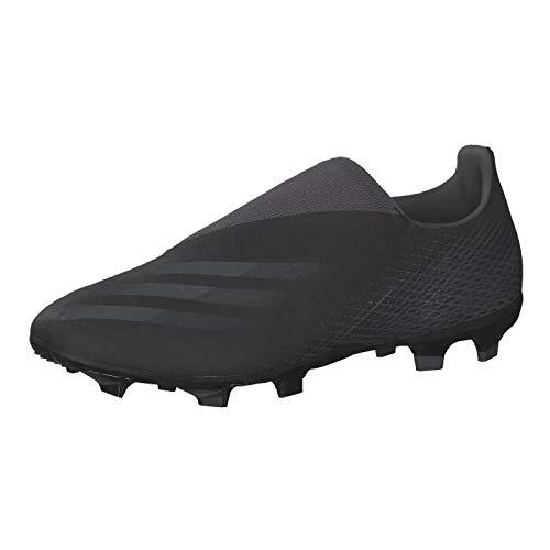 adidas X GHOSTED.3 LL FG, Zapatillas de fútbol, NEGBÁS/GRISEI/NEGBÁS, 38 EU