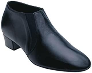 7000 Men's Latin Shoe in Black Leather