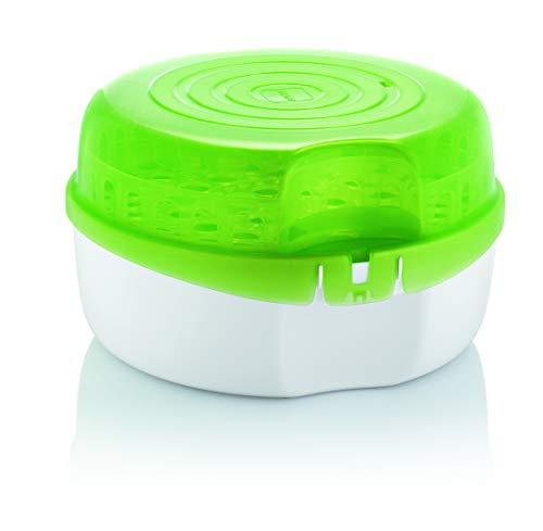 Mam Sterilizzatore per Microonde, Diametro: 28 cm   Altezza: 16,5 cm, Verde