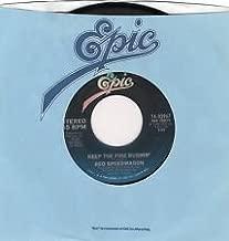 Reo Speedwagon - Keep The Fire Burnin - 7 inch vinyl / 45