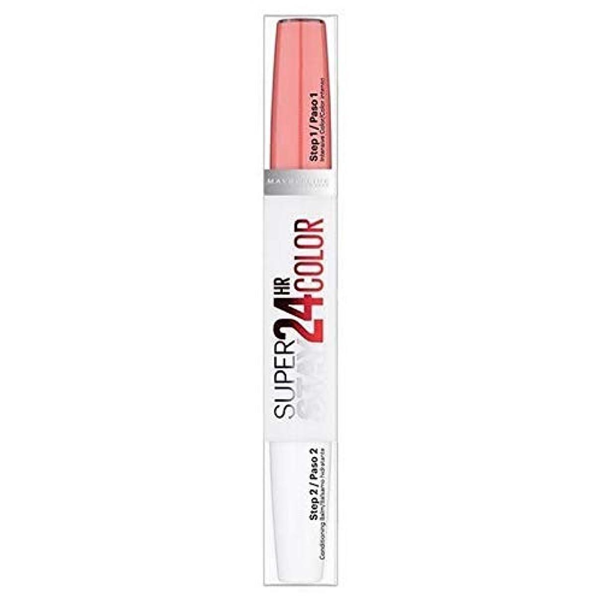 同志男やもめシニス[Maybelline ] メイベリンSuperstay 24時間口紅自然フラッシュ - Maybelline Superstay 24HR Lipstick Natural Flush [並行輸入品]