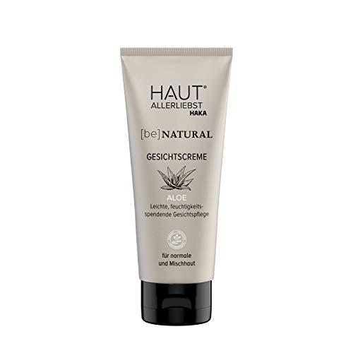 HAKA Gesichtscreme Aloe I 100 ml I Beruhigend und feuchtigkeitsspendend - ideal für normale und Mischhaut
