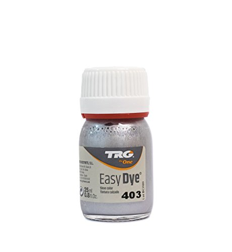 TRG Easy Dye for Leather and Canvas, Metallic Colors (403 - Brilliant Silver)