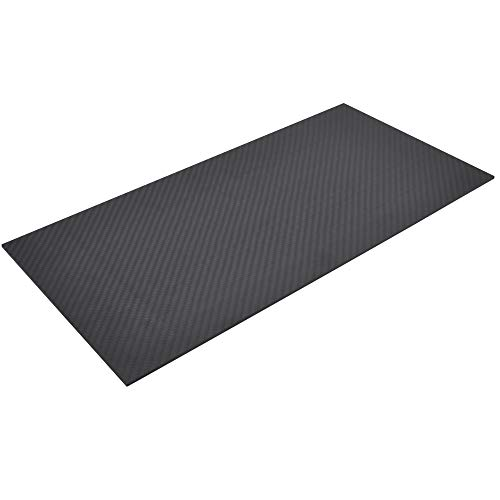 FPVKing 200 X 400 X 3mm 3K Full Carbon Fiber Plate Panel Sheets 3mm Thickness High Composite Hardness Material for RC DIY