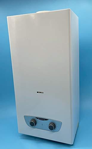 Calentador Ariston 11 Litros Atmosférico | Encendido Automático | Tiro Natural | Bajo NOx | Cumplimiento Normativa Española para Instalación en Exterior (Gas Natural)