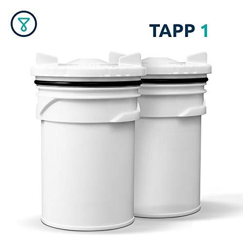 TAPP Water TAPP 1 - Set di 2 cartucce di ricambio per filtro TAPP 1