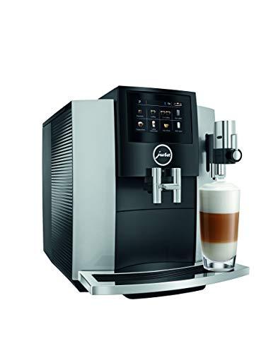 Jura S8 Automatic Coffee Machine Moonlight Silver