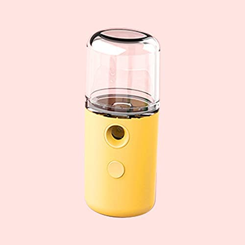 high quality Nano facial sale hydrating spray, face steaming spray, home charging hydrating lowest device, facial beauty instrument, compact and portable, let you keep your face moist for 24 hours. (Yellow) outlet online sale