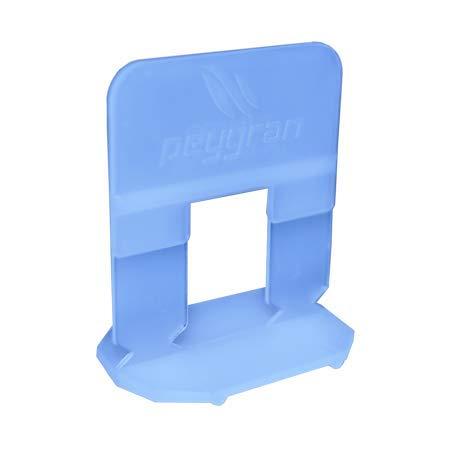 Sistema de nivelación de azulejos Peygran de 0,5 mm – 300 clips – Instalación de azulejos y piedra sin labios para profesionales y bricolaje. El producto más preciso y fiable del mercado.