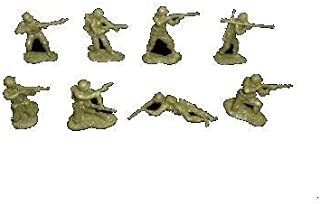 Classic Toy Soldiers WWII American GI's 16 figures in 8 poses