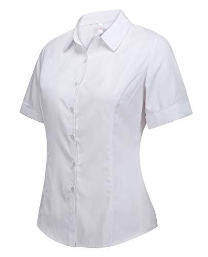 Women Short Sleeve Dress Shirts