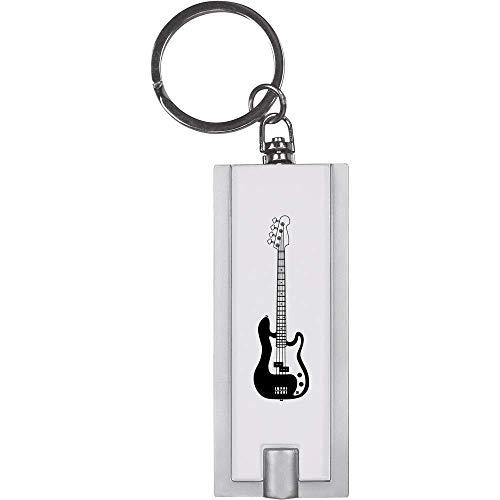 Azeeda \'Bassgitarre\' Schlüsselanhänger LED Taschenlampe (KT00018465)