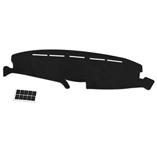 NDRUSH Dash Mat Dashboard Cover Carpet Compatible with Ford F150 F250 F350 1992...