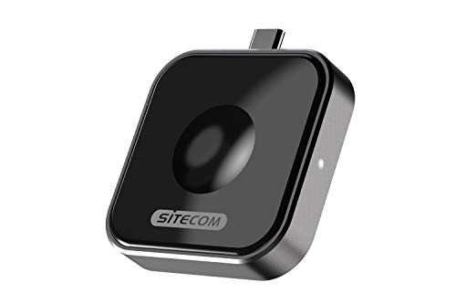 Sitecom CH-006 USB-C draadloze laadadapter voor Qi Smartwatch & Apple Watch, 2 W