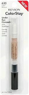 Revlon ColorStay Under Eye Concealer with SoftFlex - 630 Light-Medium by Revlon for Women - 0.04 oz Conce, 1.18 ml