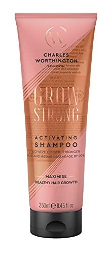 Charles Worthington Grow Strong Activating Shampoo, Hair Growth Shampoo for...