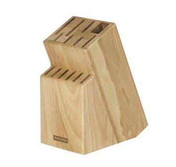Tescoma Messerblock unbestückt aus Holz, für 13 Messer und Geflügelschere/Wetzstahl
