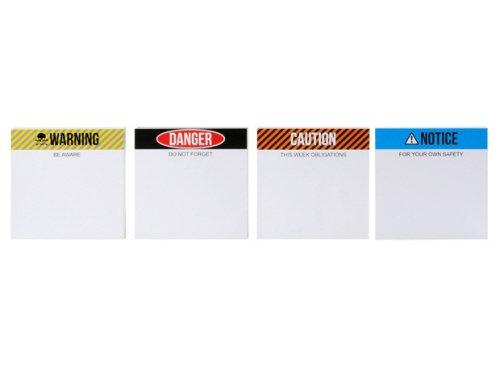PT Memoboard Warnung mit schwarzem Marker, Sortiert