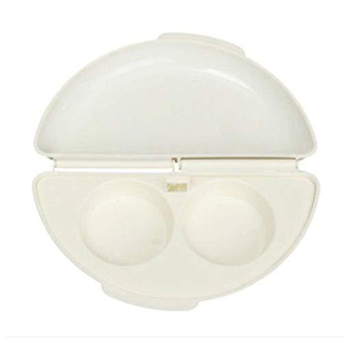 #N/V Horquilla de microondas portátil útil de 1 a 2 minutos de cocina de huevos al vapor de la sartén de huevos escalfadores de huevos tortilla sartén de cocina para el hogar herramienta de cocina