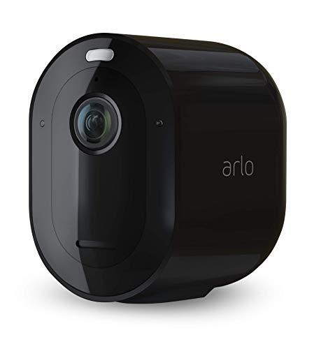 Arlo Ultra Smart Home Draadloze 4K HDR bewakingscamera & veiligheidsalarm Pro3 2K (zwart) Zusatz-Kamera zwart