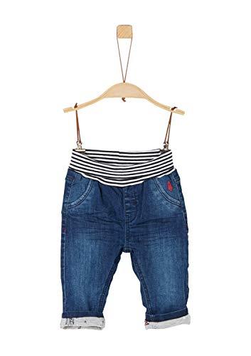 s.Oliver Baby-Jungen 65.911.71.3502 Jeans, Blau (Blue Denim Stretch 56z2), (Herstellergröße: 86)