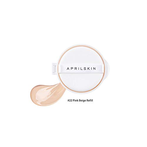 [APRILSKIN] Perfect magic cover proof cushion 11g (SFP50+/PA+++) (04#22 Pink Beige Refill 11g)