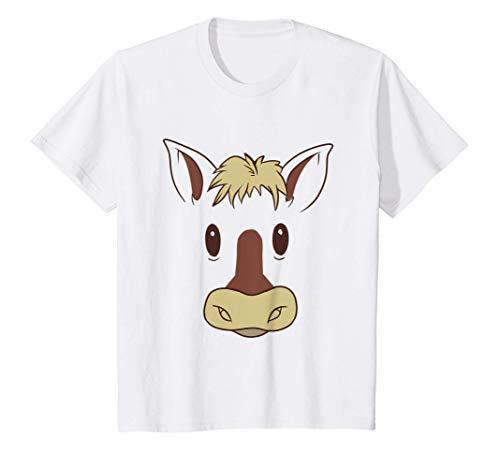 Niños Cara de caballo - retrato gracioso de un animal Camiseta