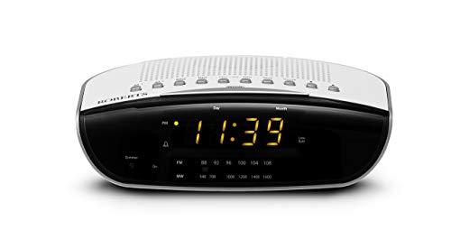 Roberts Radio CR9971 Chronologic Vi Dual Alarm Clock Radio with Instant...