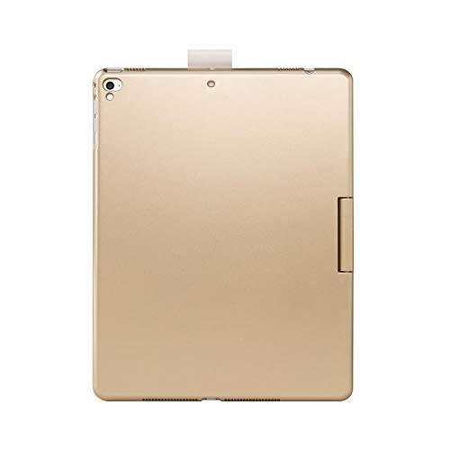 longeg Tablet Funda para iPad 10.2 2020 Colores Funda inalámbrica Bluetooth Light Bluetooth Funda para iPad 2018 9.7 10.2 Air 10.5 2019 (Color : Gold, Size : iPad Pro 10.5)