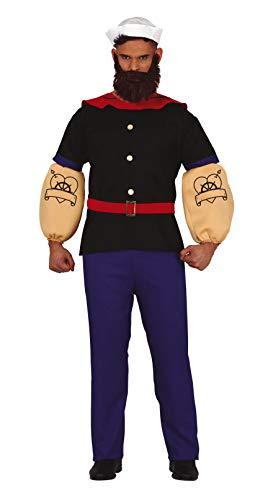 Costume da Braccio di Ferro Marinaio per uomo M