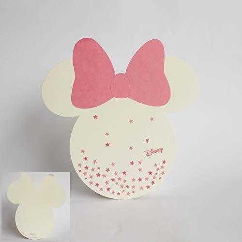 Scotton Billet invitation ou tablò silhouette Minnie Disney Rose Set 20 pcs Article 68060