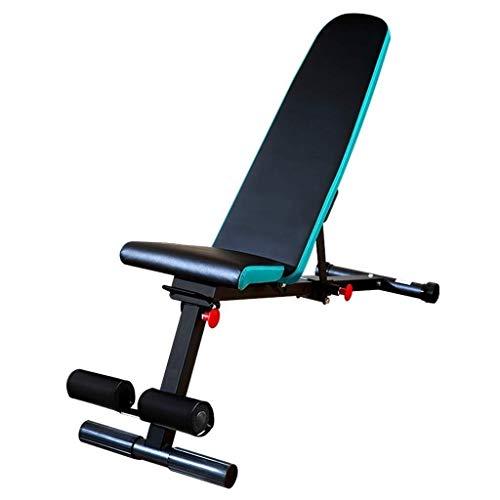 XIAOHUANG Gewichtheben Multiuse Home Gym Chest Bizeps Workout Adjustable Fitnesstraining Sport Fly Wohnung Neigung Decline Bench