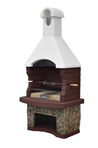 Mussalla Masonry - Forno in muratura, con griglia integrata per barbecue