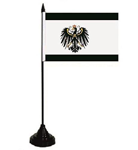 U24 Tischflagge Königreich Preussen Fahne Flagge Tischfahne 10 x 15 cm