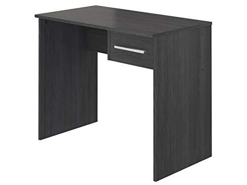 Marchio Amazon -Movian, scrivania con cassetto singolo in stile moderno, modello Inari, 50 x 90 x 73 cm, colore grigio