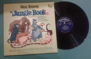 Walt Disney's 'The jungle book' LP GAT DISNEYLAND STORYTELLER GB 1967