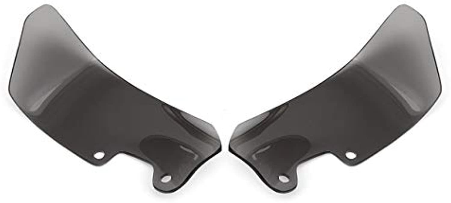 StarShopinc  Pair Motorcycle Wind Deflectors Windshield Windscreen for BMW R1200GS 20042012 Left Right
