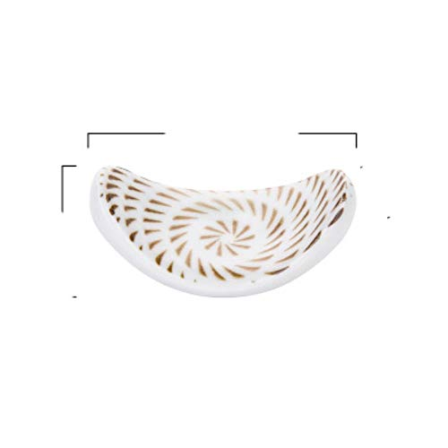 La cerámica clásica japonesa es un cuenco de sopa de fideos de cocina de 6/8 pulgadas, cuenco de ramen grande, cuchara, soporte para tazas de té, soporte para palillos al por mayor-D