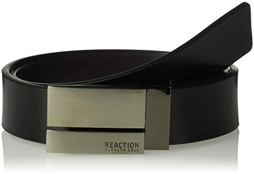 Kenneth Cole REACTION Men's Waldorf Reversible Leather Belt,Black/Brown,36