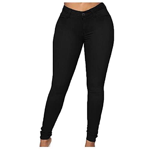 N\P Mujeres Primavera Otoño Flaco Lápiz Pantalones Casual Cinturón Cremallera Pantalones Streetwear