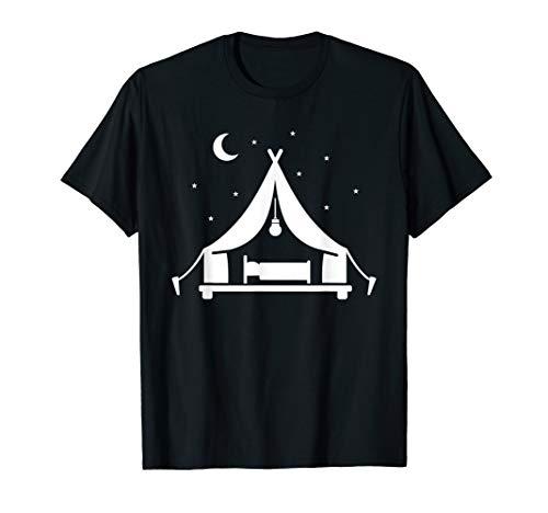 Camping glamping tent T-Shirt