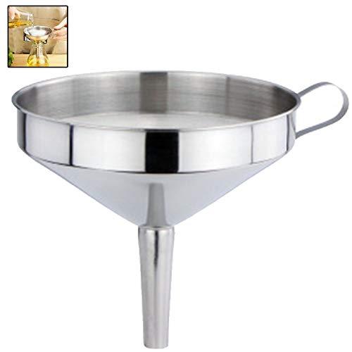 Funzionale Cucina in Acciaio Inox Olio Miele Imbuto Con Staccabile Setaccio Filtro Per Strumenti Profumi